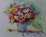 Aquarel kleurrijk-boeket