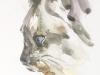aquarel van een poes