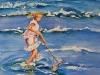 Aquarel Schelpen zoeken