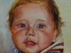 Olieverf portretje in opdracht 14 x 14 cm