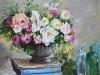 opdracht-olieverf-blauwe-boeken-en-bloemen
