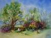 opdracht aquarel Wiegje
