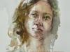 aquarel-portret-studie-Raquel-Carvalho te koop