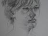 portret plein air Linde