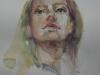 Aquarel portret-studie-Eve-Hartig