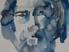 studie portret in aquarel