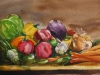 Aquarel Groente en fruit stilleven