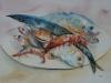 Aquarel Stilleven Fruits de Mer