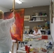 workshop acryl en aquarel 2010