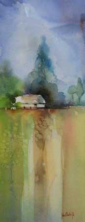 boerderijinaquarel