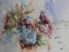 Aquarel herfstboeket met hortensia (Verkocht)