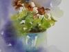 aquarel-O.I.Kers-in-turquoise-potje te koop