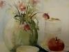 Aquarel oude-rozen