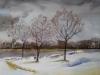 Aquarel annet-sneeuw