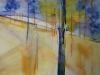 Aquarel  Studie/kopie naar Xavier Swolfs, maat 76 x 56 cm van cursist M
