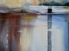 Aquarel  Studie/kopie naar Xavier Swolfs, maat 76 x 56 cm van cursist T.