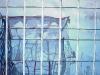 Aquarel spiegeling-van-gebouwen