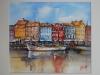 Opdracht aquarel Denemarken