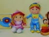 babykamer acryl verfschilderij in opdracht
