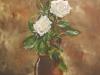 olieverf opdracht tweeluik rozen