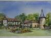 opdracht-aquarel-trouwlocatie-kasteel