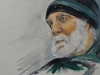 Portret in olieverf van een zeeman