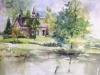 Aquarel Villa Welgelegen Serooskerke te koop