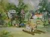 Aquarel tuin-aan-de-molenweg