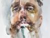 Aquarel-studie-man-met-baard