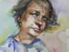 Portret-studie-6 op Fabriano papier 36x26 cm te koop