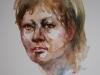 aquarel portret studie