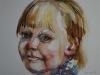 schetsboek portret studie meisje maat 15 x 20cm