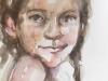 schetsboek portretstudie