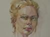 studie portret Fabriano papier