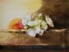fruitkistje in Aquarel maat 21 x 28 cm