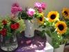 bloemen in zonlicht